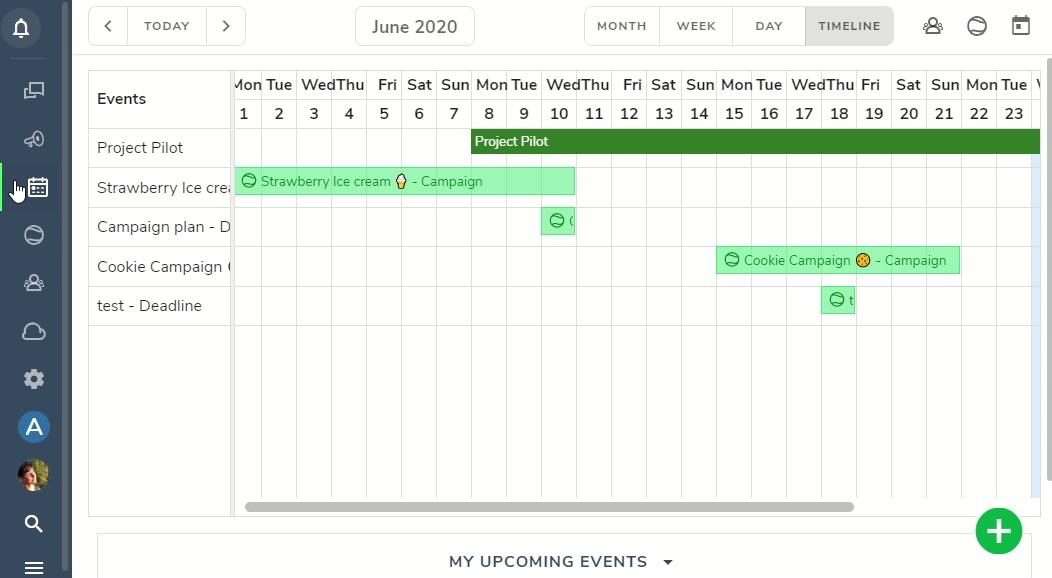 Activity events