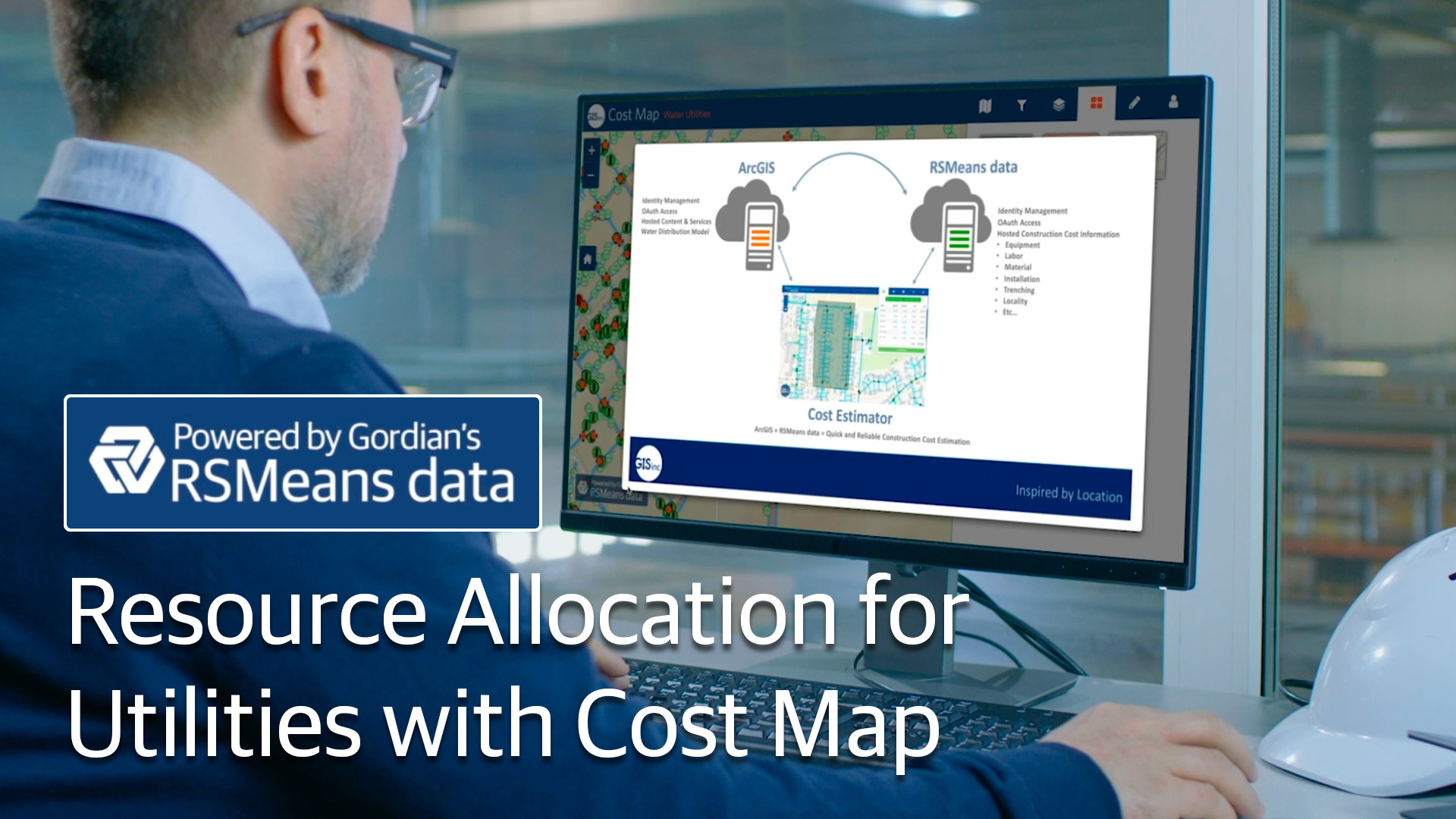 Resource Allocation For Utilities With Cost Map