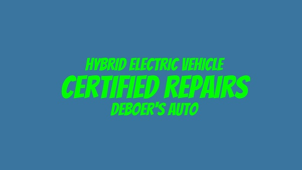 Certified Hybrid Electric Repairs