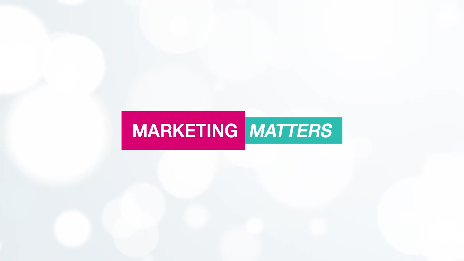 Video 03 Marketing Matters