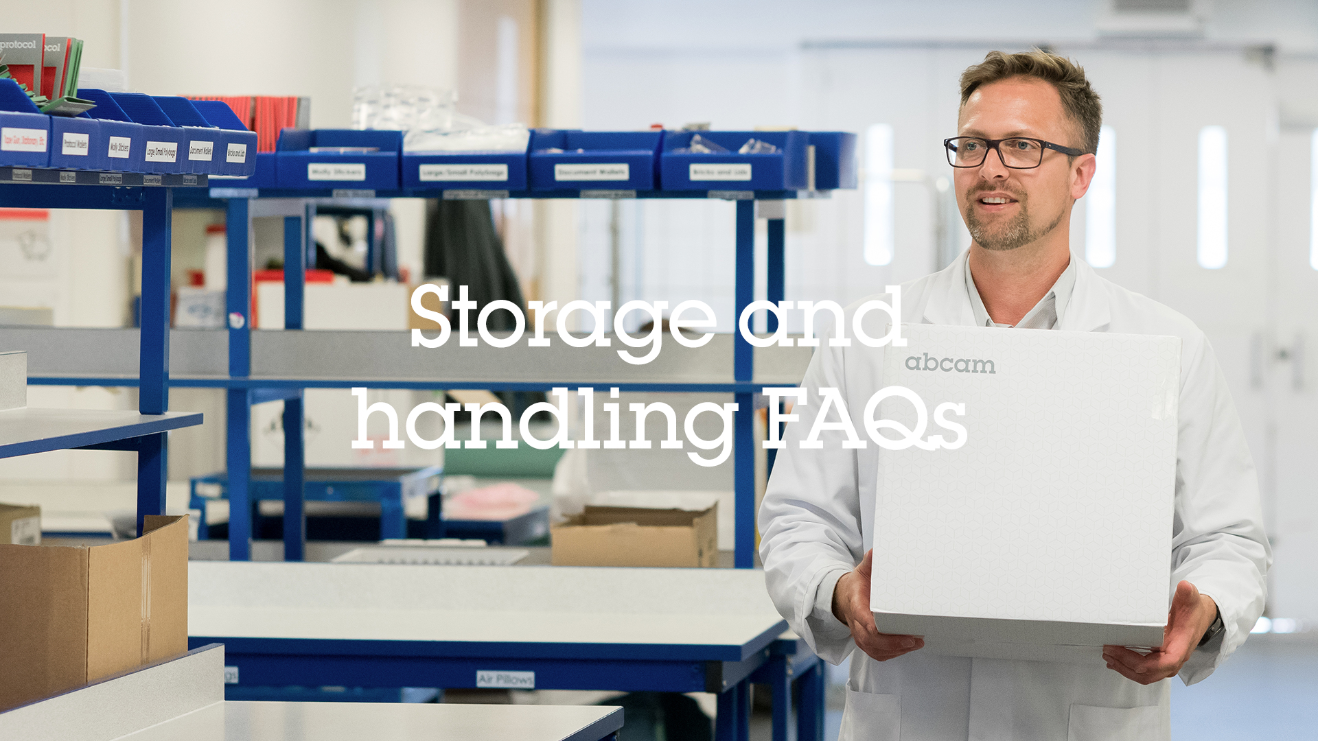 Part 2 - Storage and Handling FAQs