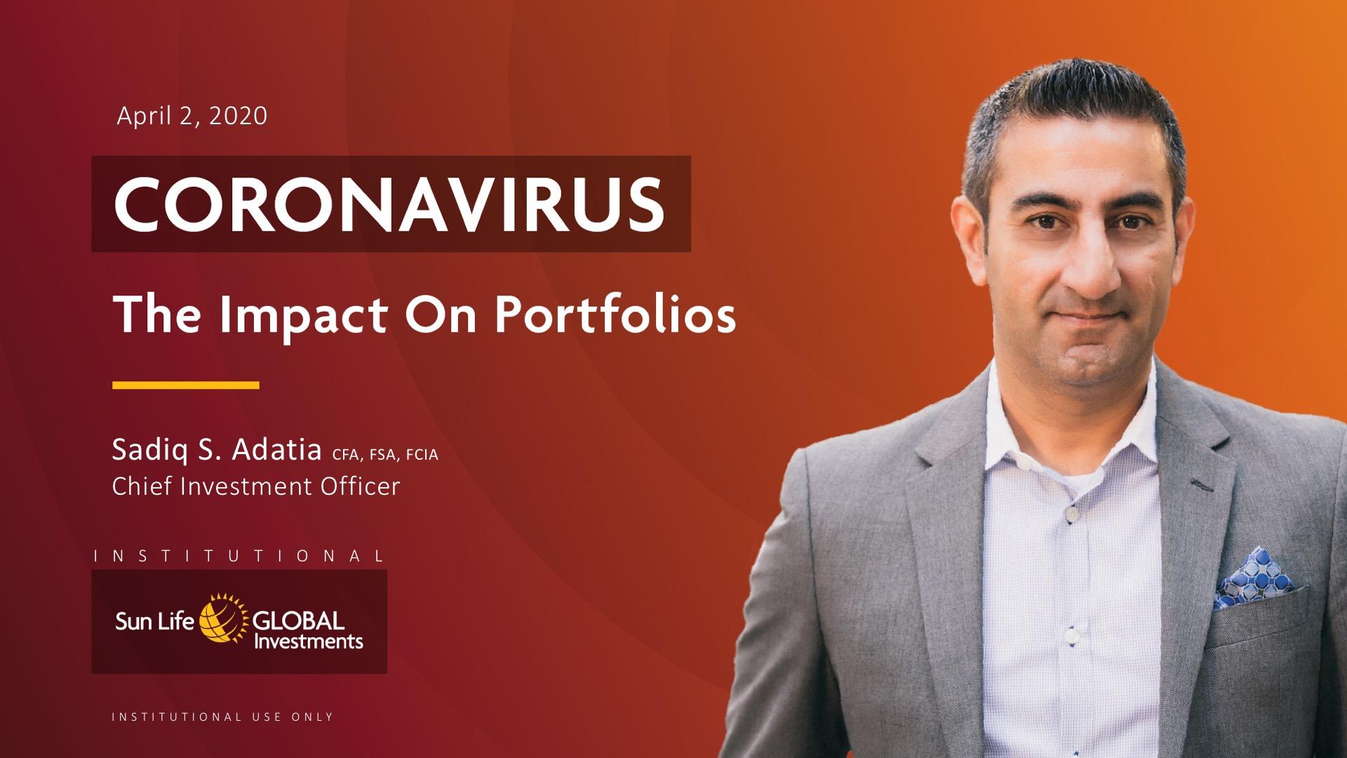 COVID-19– The Impact on Portfolios