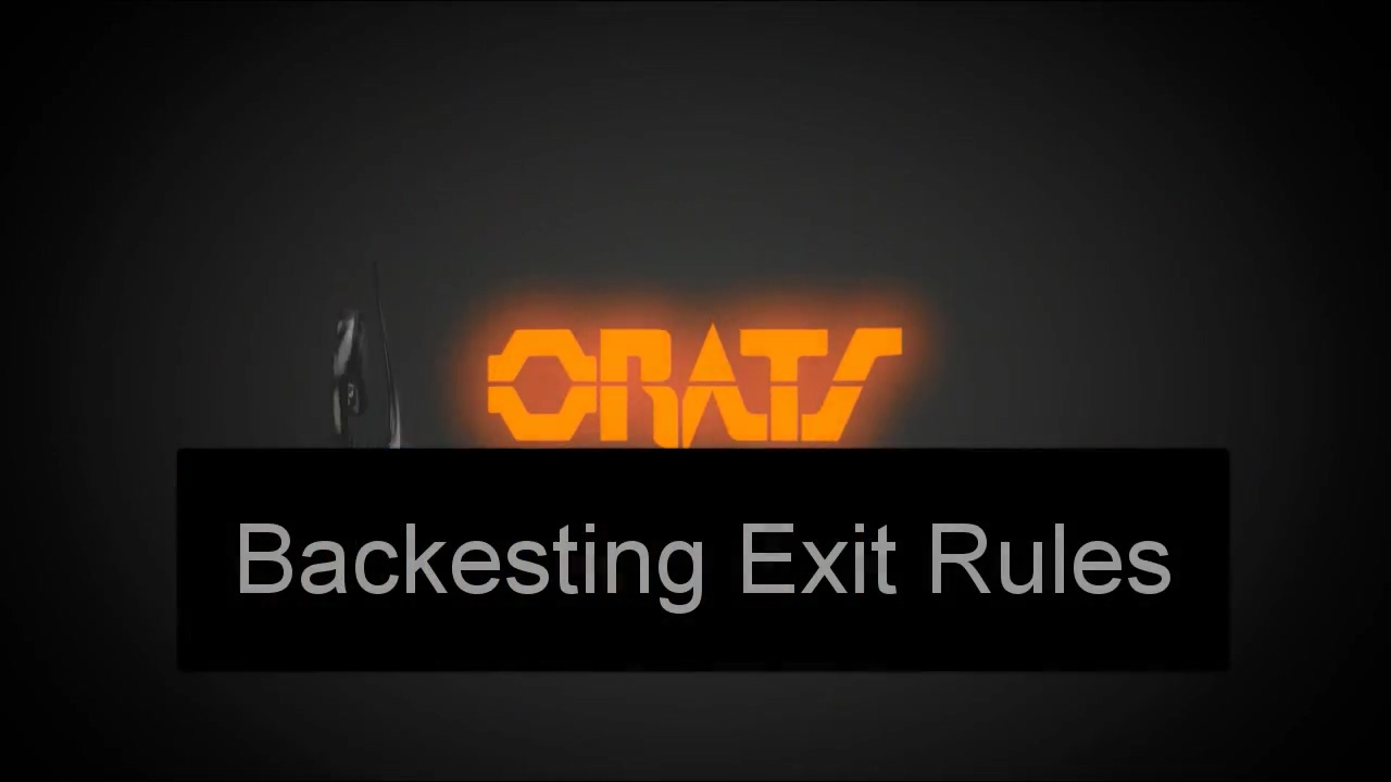 Backtest Exit Rules