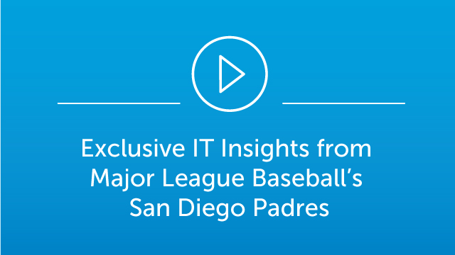 Webinar Exclusive IT insights from Major League Baseball's San Diego Padres
