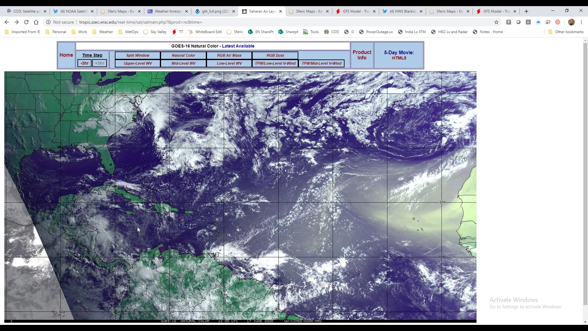 Weekly Weather Briefing.June1820