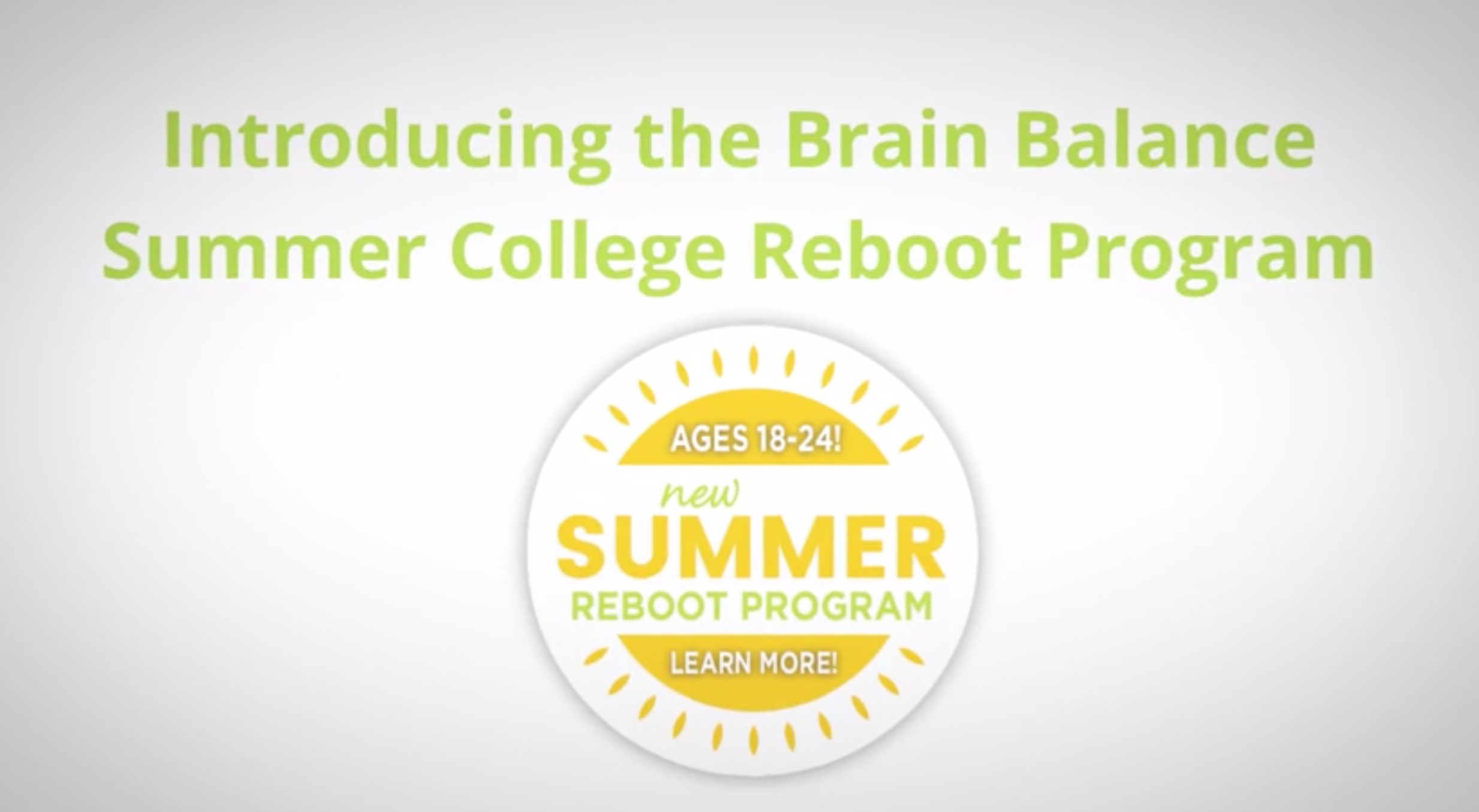 Summer College Reboot Video Animation 60 Seconds Final