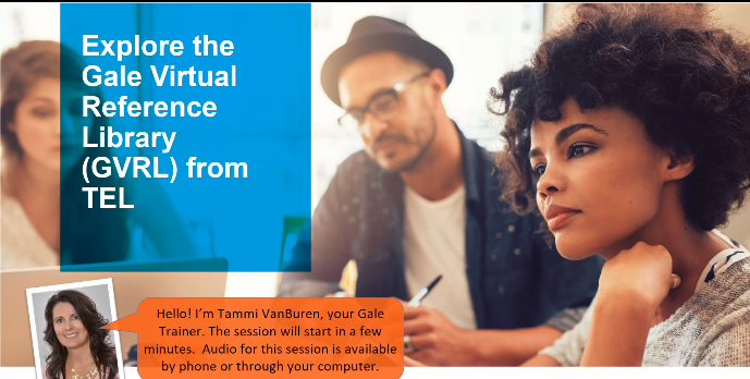 Explore the Gale Virtual Reference Library from TEL Thumbnail