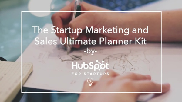 Startup Marketing and Sales Planning Kit Video