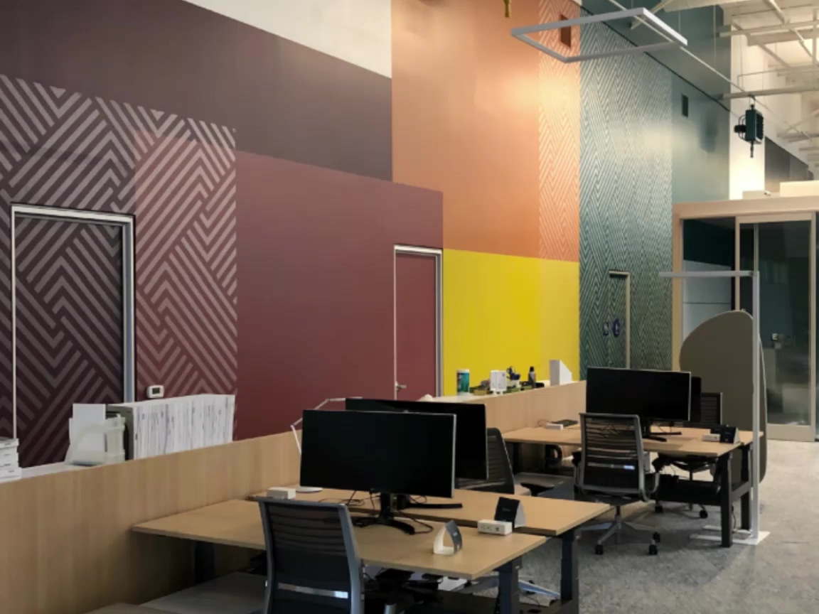 OneWorkplace Interior Wall Graphics by BarkerBlue_Medium