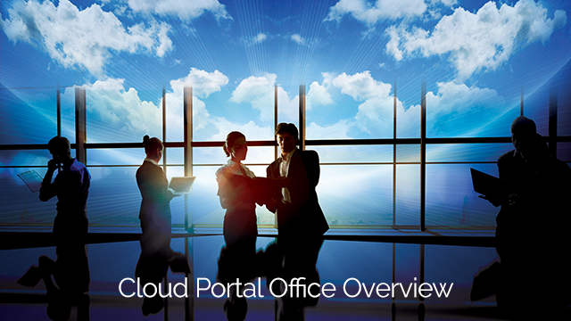 Overview: Cloud Portal Office from Sharp