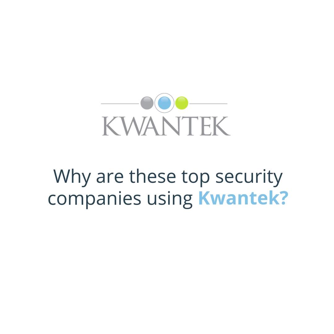 kwantek - top security companies video