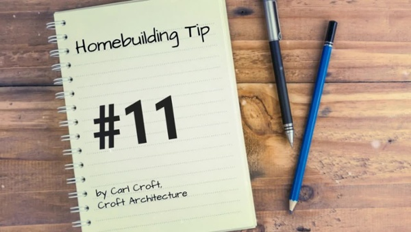 12 Tips of Christmas for Ho Ho Homebuilding. Tip #11HD