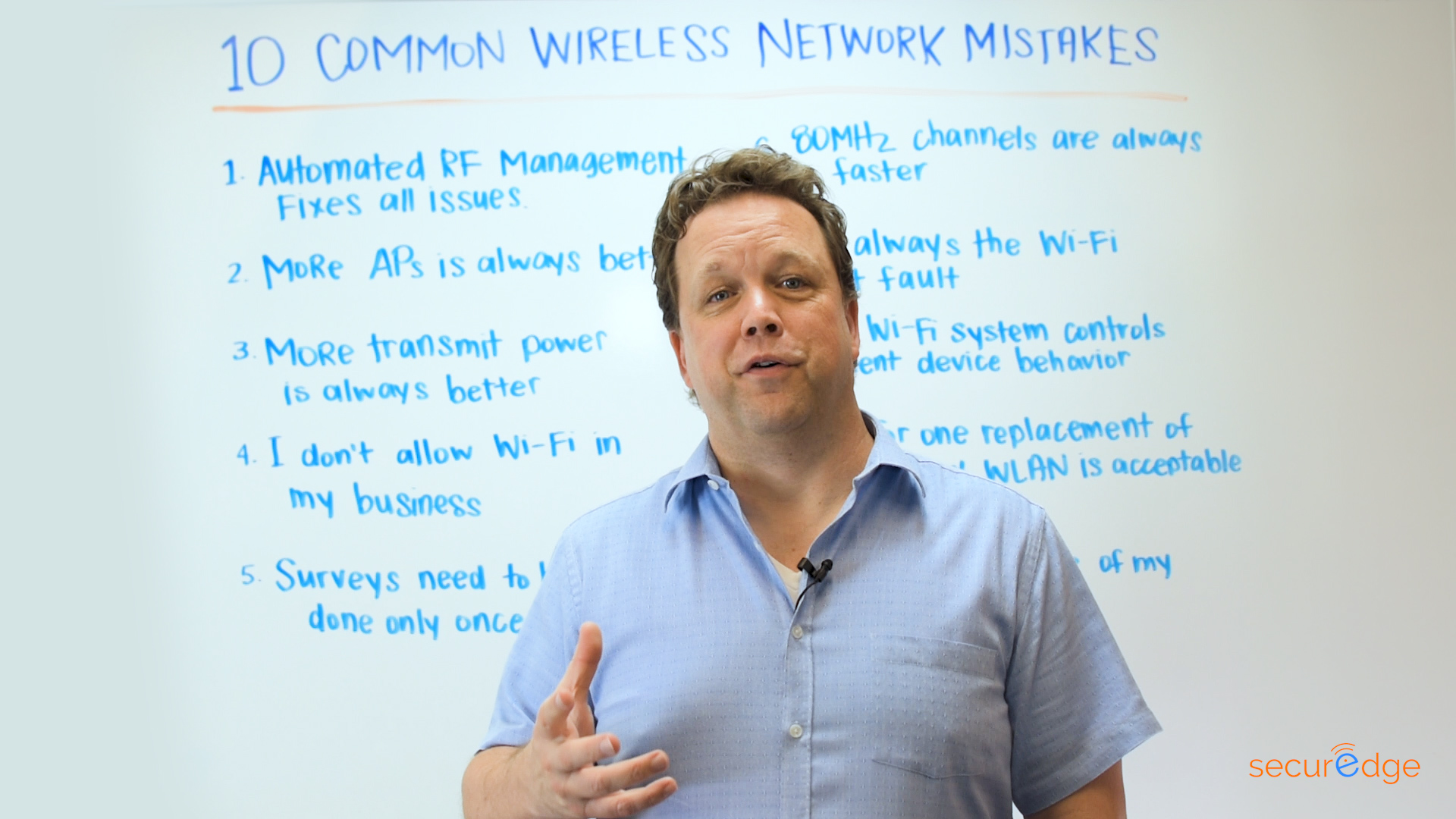 10 Common Wireless Network Mistakes
