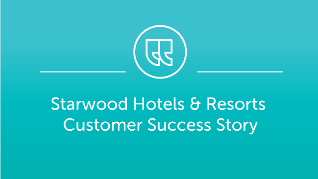 Mitel Customer Profile - Starwood Hotels & Resorts
