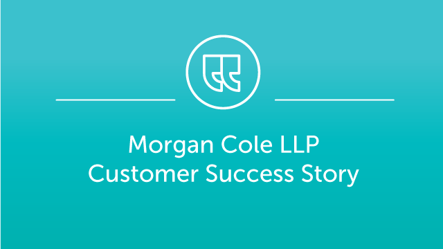 Morgan Cole LLP Case Study