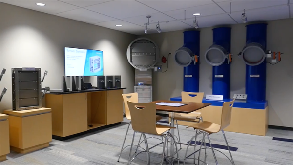 AVI Systems _ Case Study _ Greenheck Fan Corp. builds product showcase for customers (1)