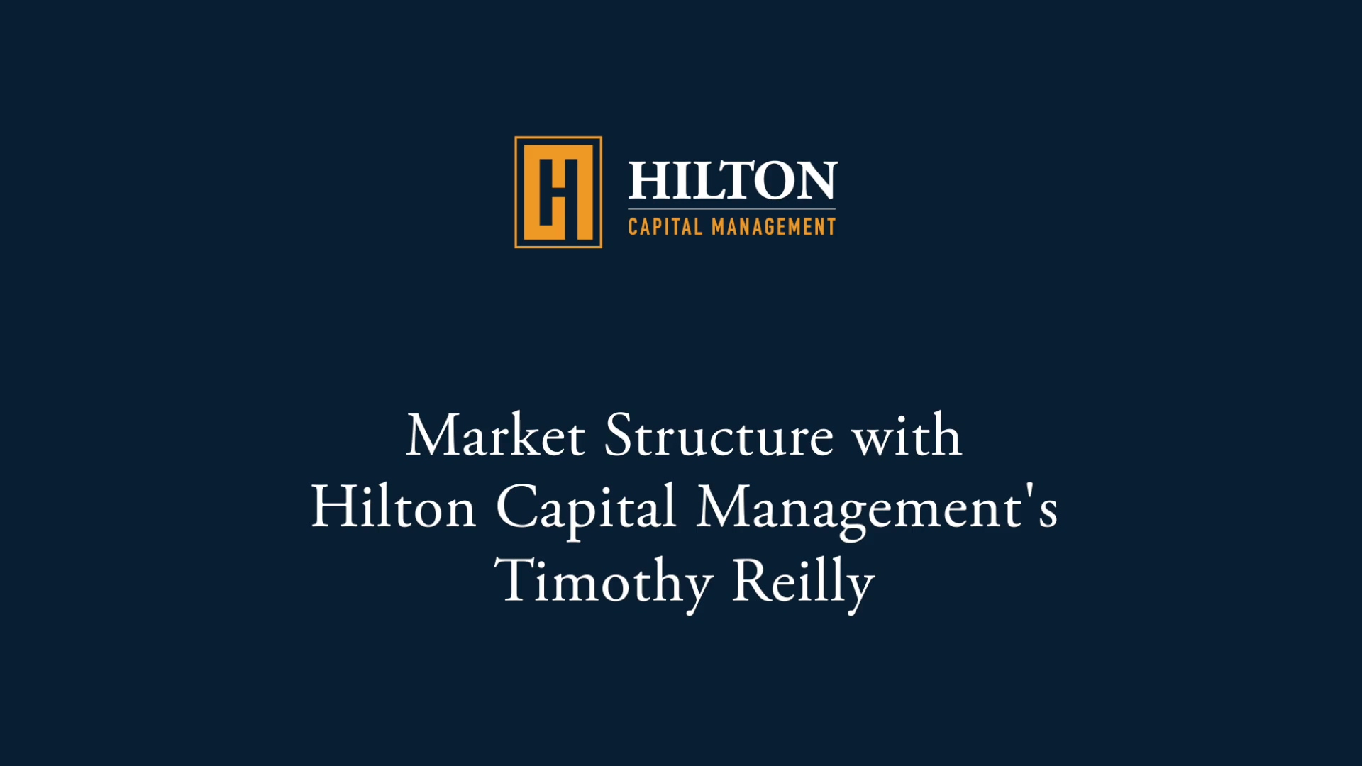 Supporting Videos - Market Structure V2
