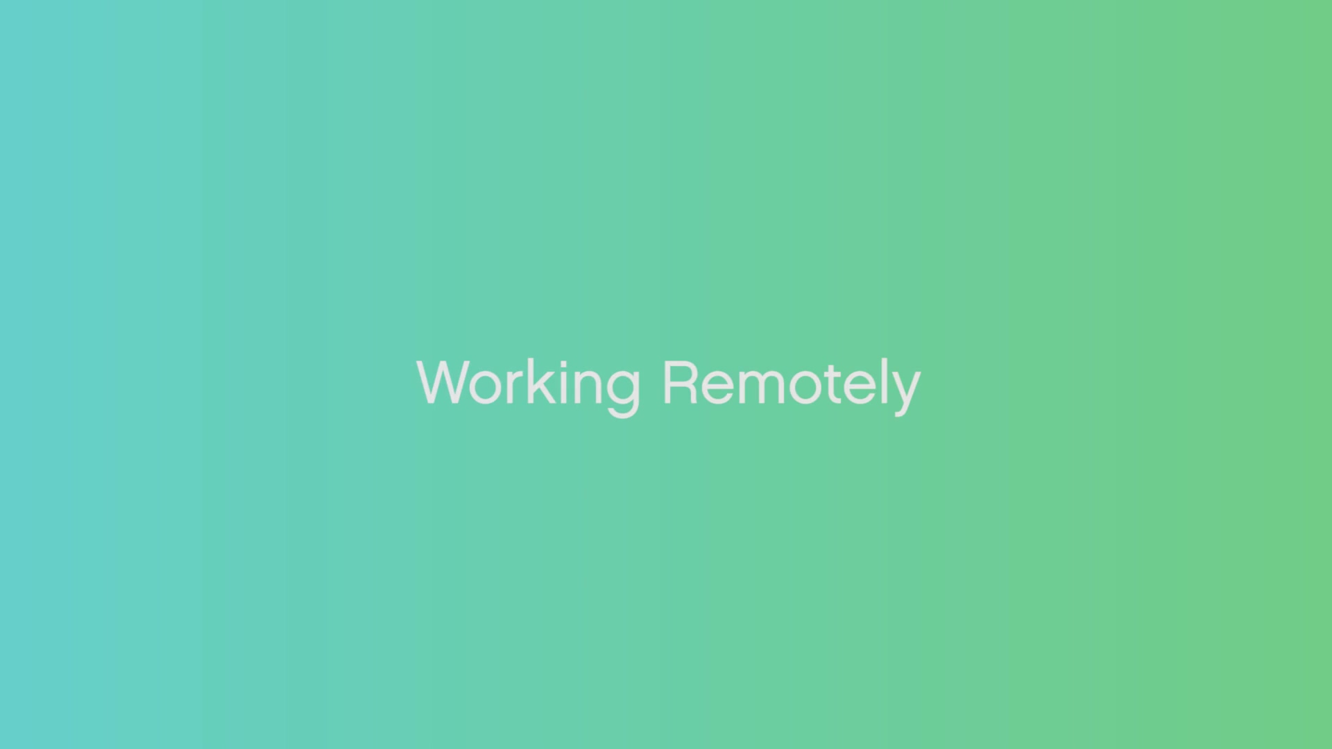 CP Remote working