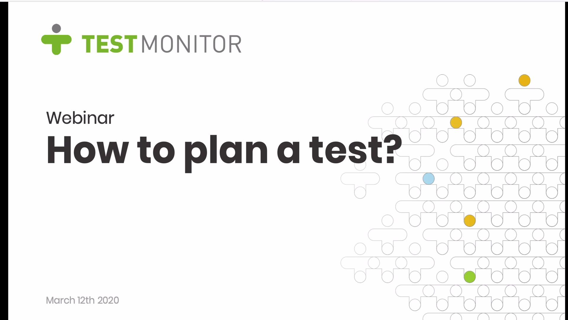 EN - Webinar - how to plan a test