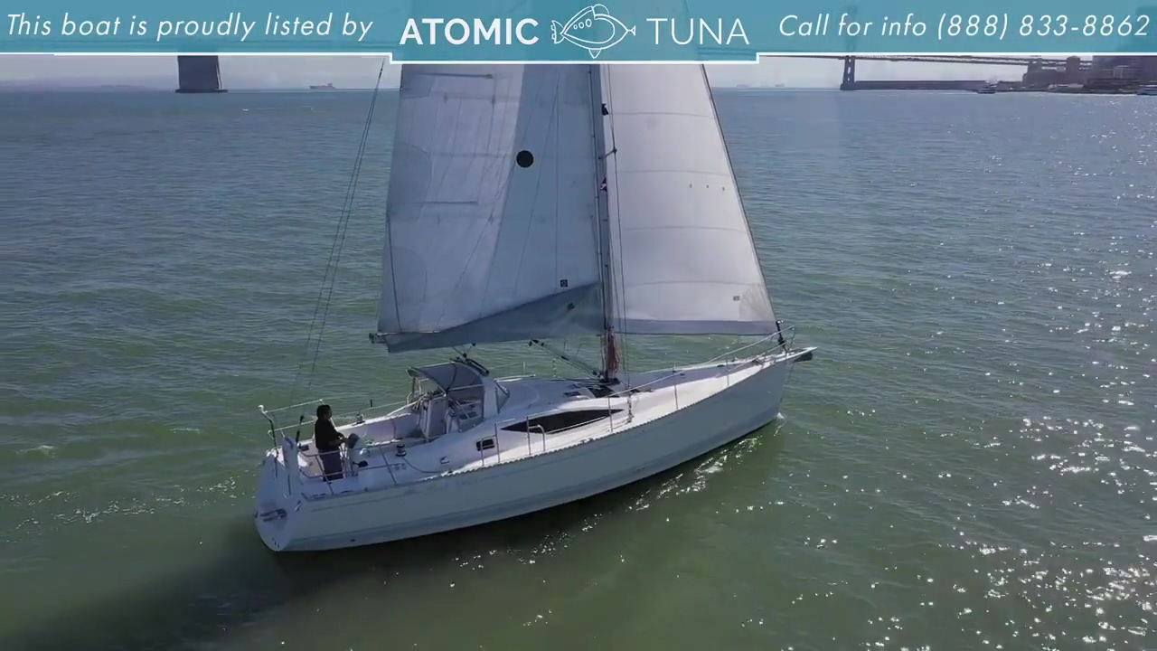 Sailboat Yacht Saga 40 Black Swan