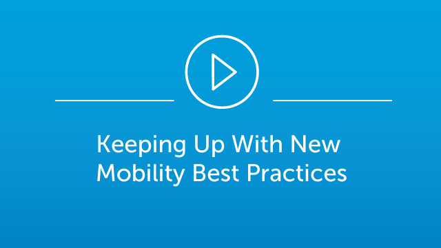 Keeping Up With New Mobility Best Practices Webinar