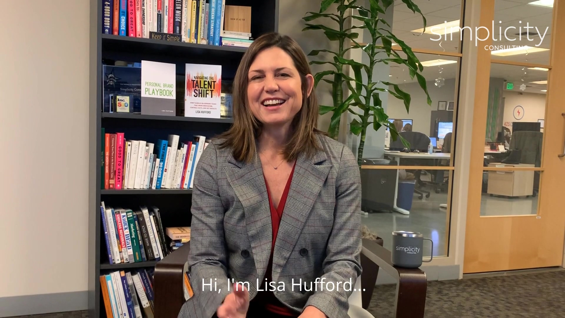 Personal Brand - Simplicity - Lisa Hufford - Confidence Hack (horizontal)