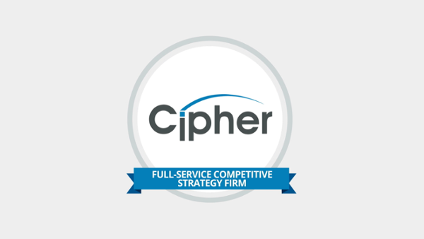 Cipher - Full Service Competitive Strategy Firm