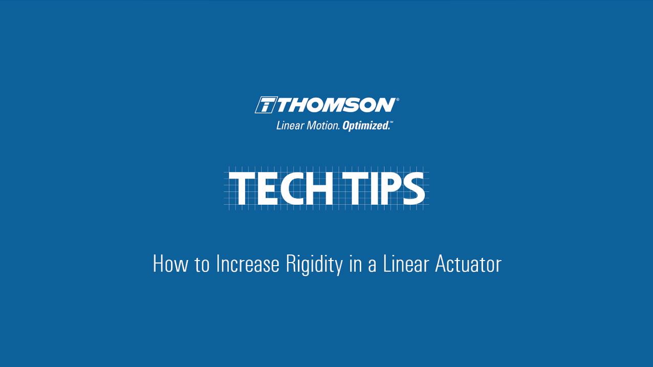 A - Techtip_Linear Actuator_vden