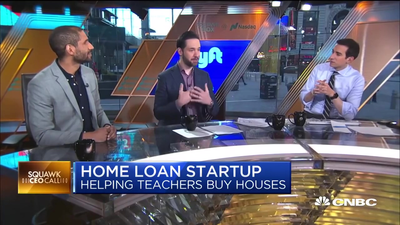 Alex Lofton talks with Alexis Ohanian on Squawkbox on CNBC Morning