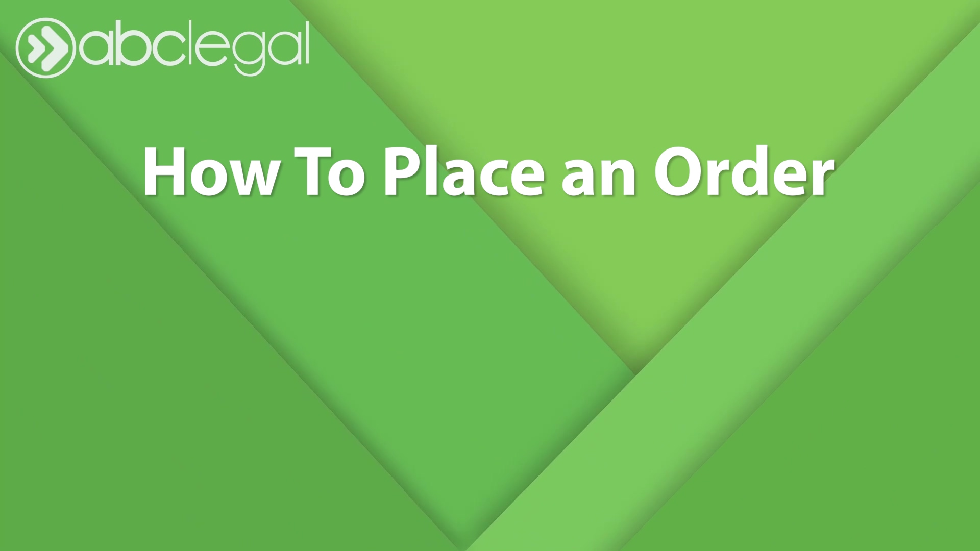 How to Place an Order Modified