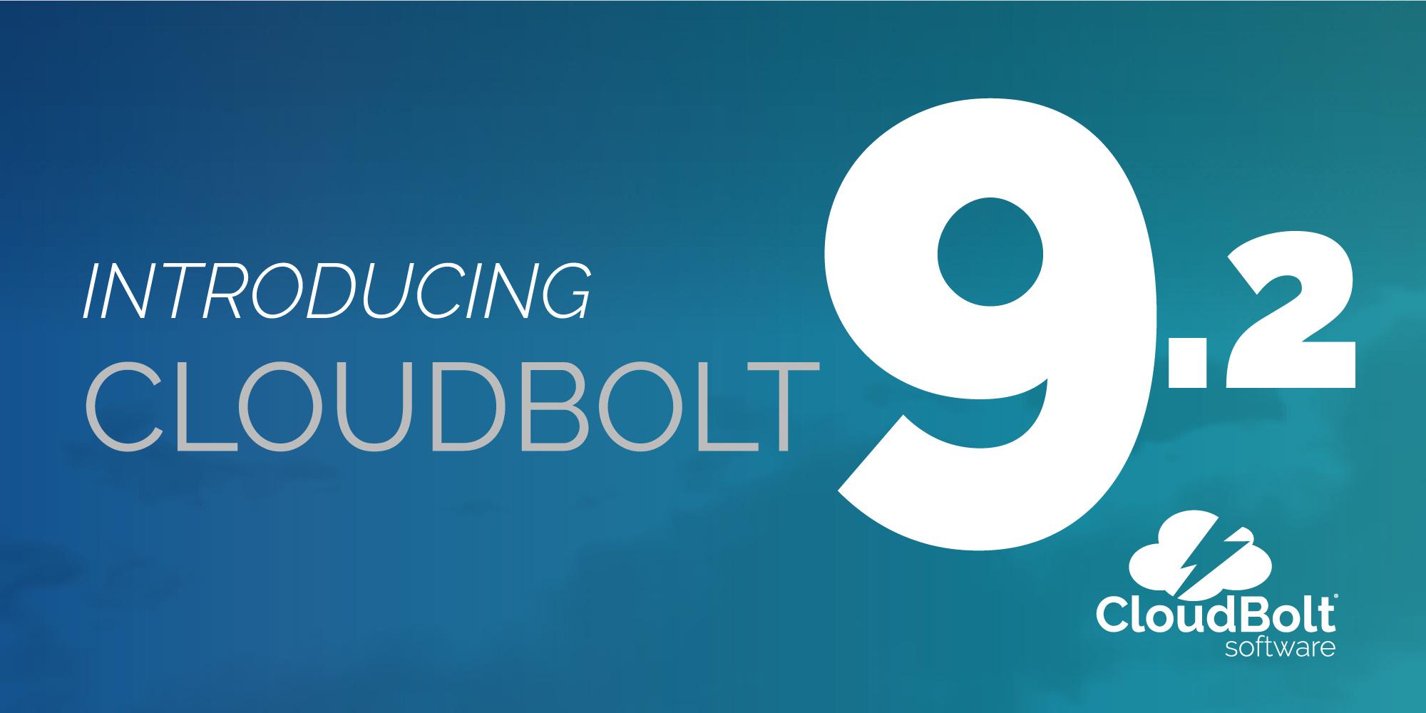 CloudBolt 9.2 Webinar