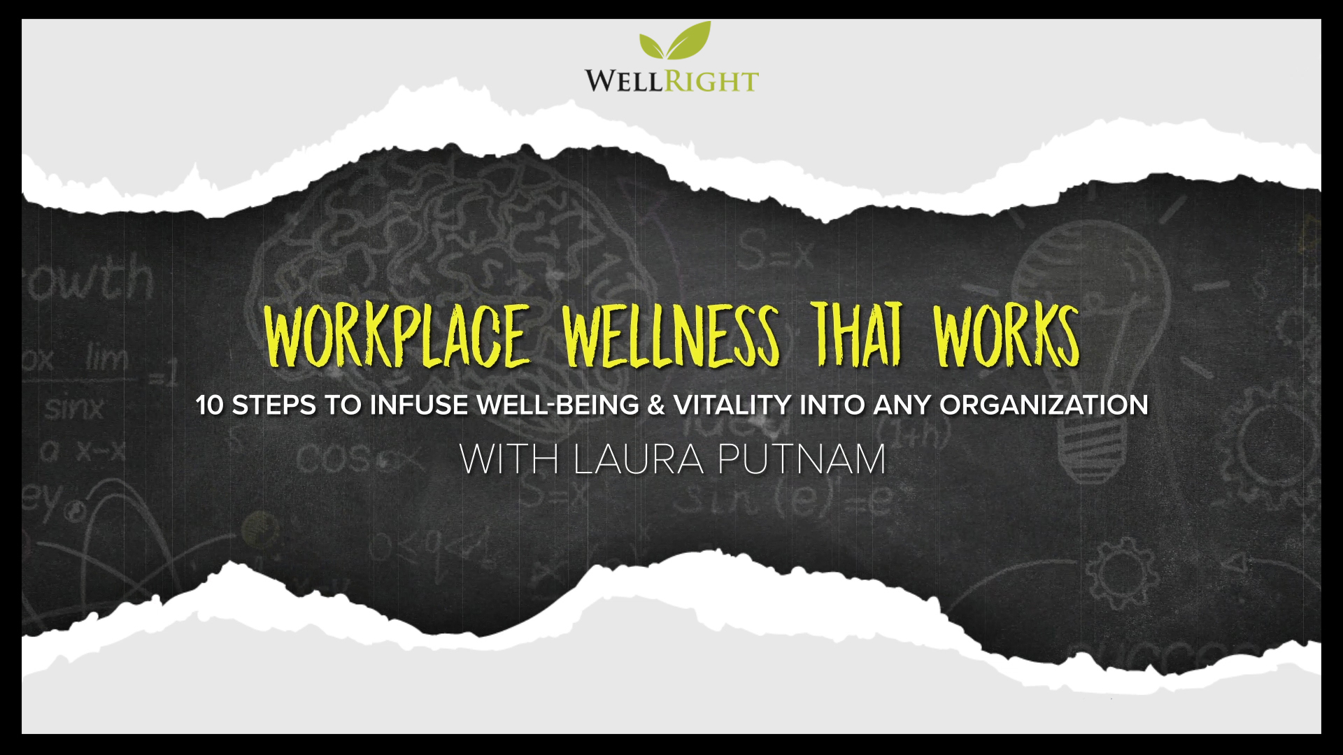 Laura Putnam Workplace Wellness That Works