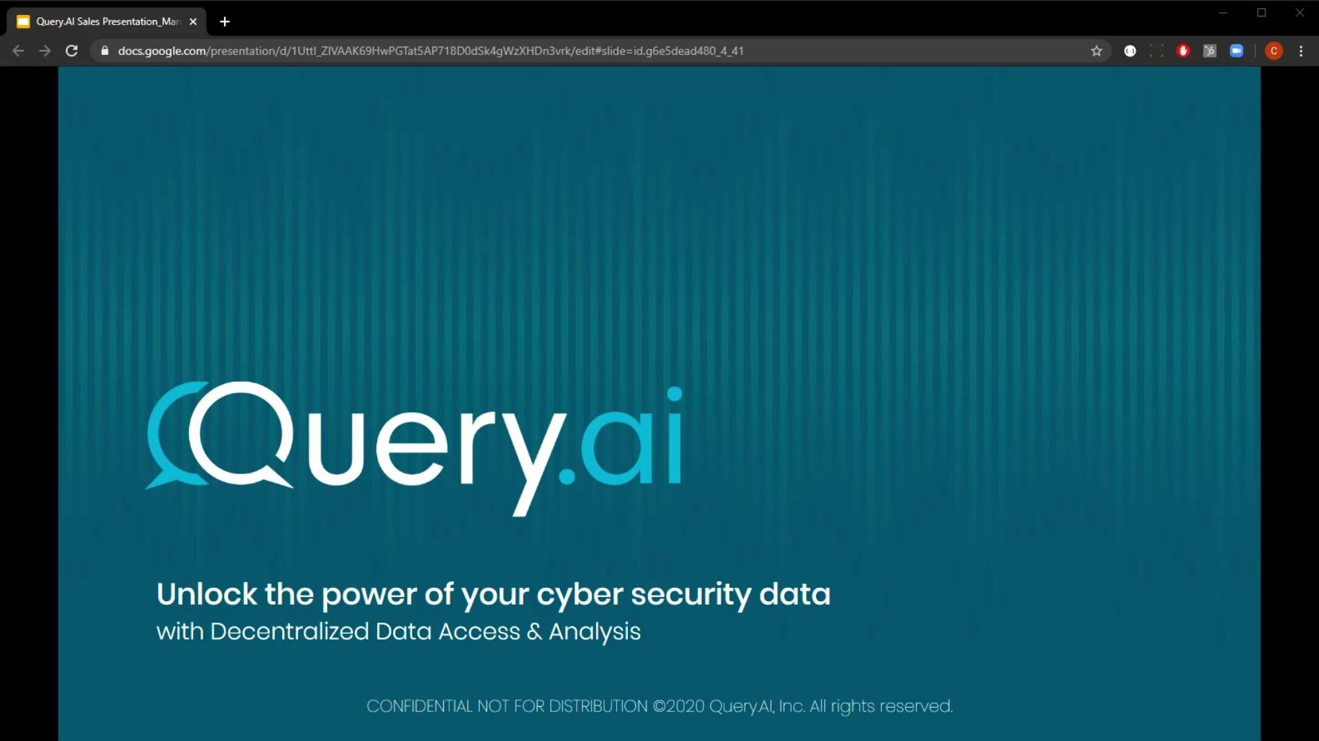 Query.AI 5 Minute Demo April 2020