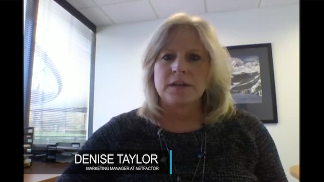 Customer: Testimonial Denise, Netfactor