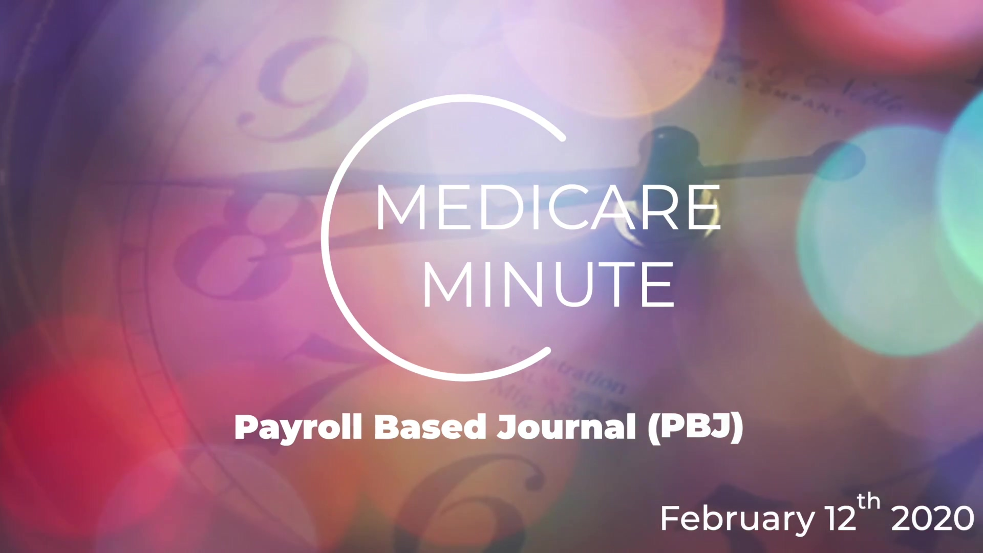 MM - Payroll Based Journal (PBJ)