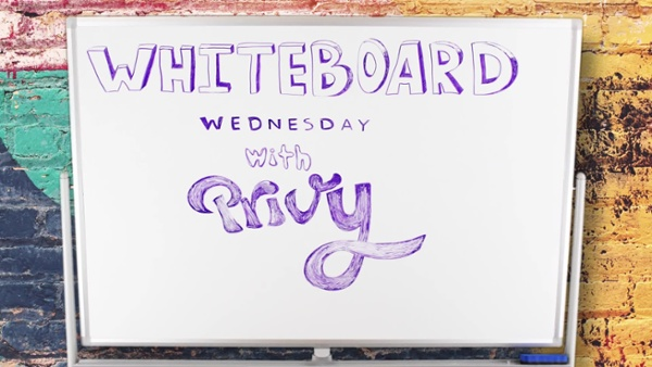Whiteboard Wednesday | How to Make a Welcome Email