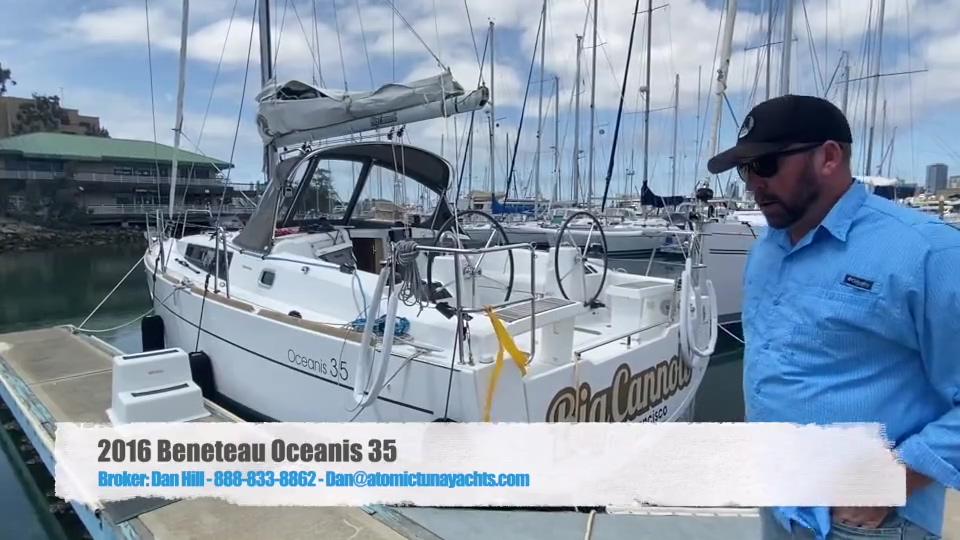 2016 Beneteau Oceanis 35 Facebook - Large 540p