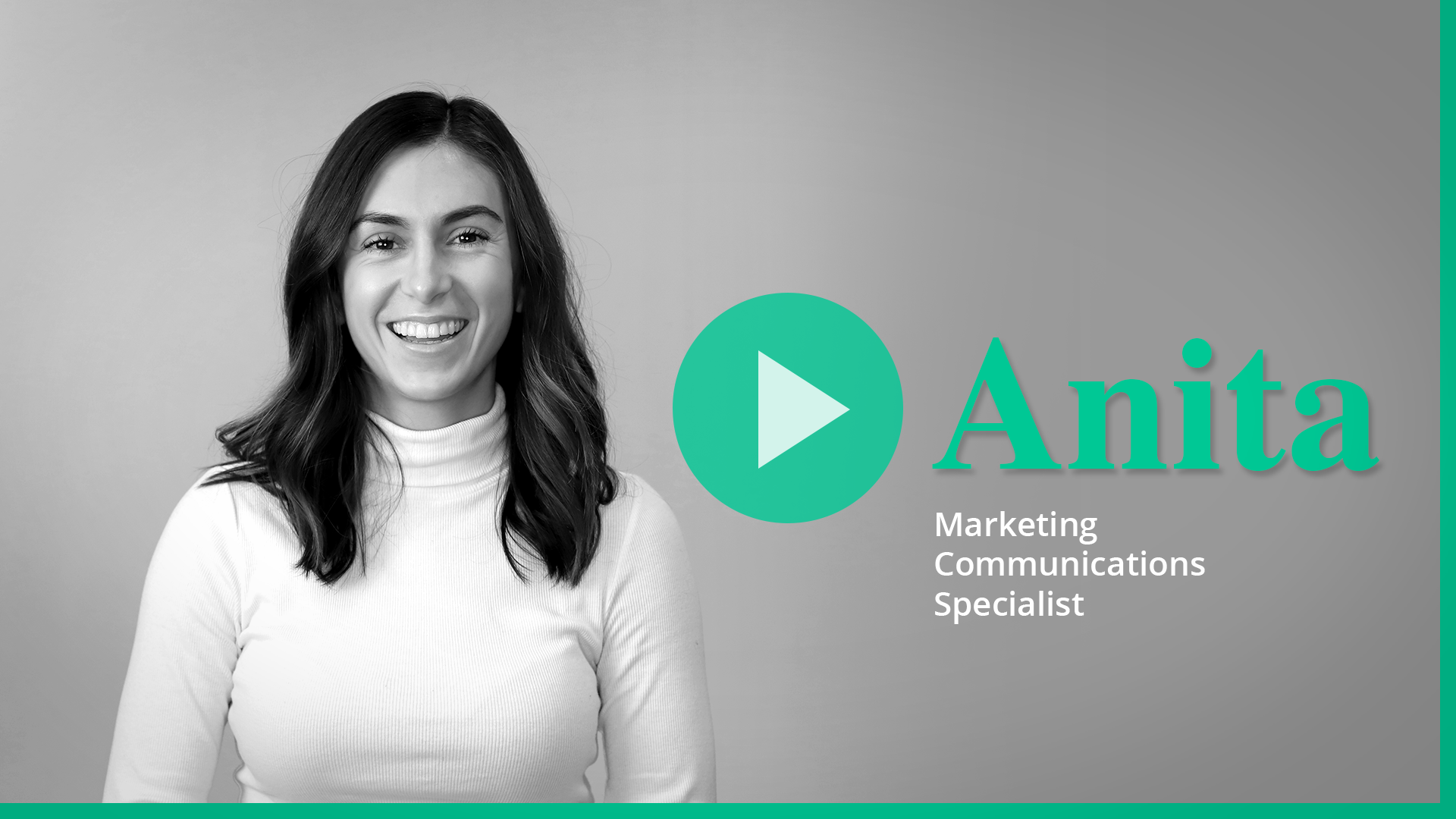 Anita video for Career page