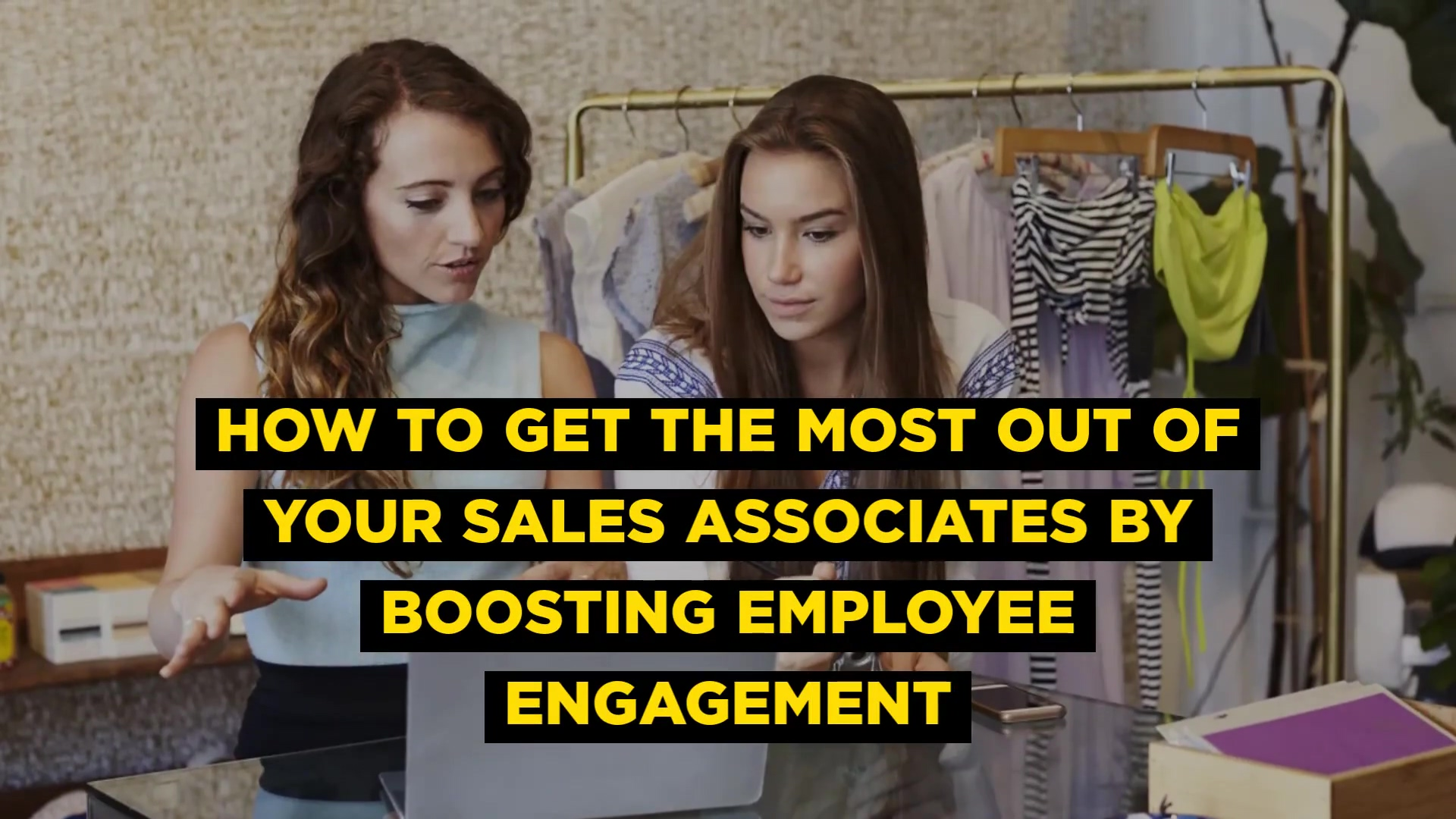 Boosting Employee Engagement Video Blog