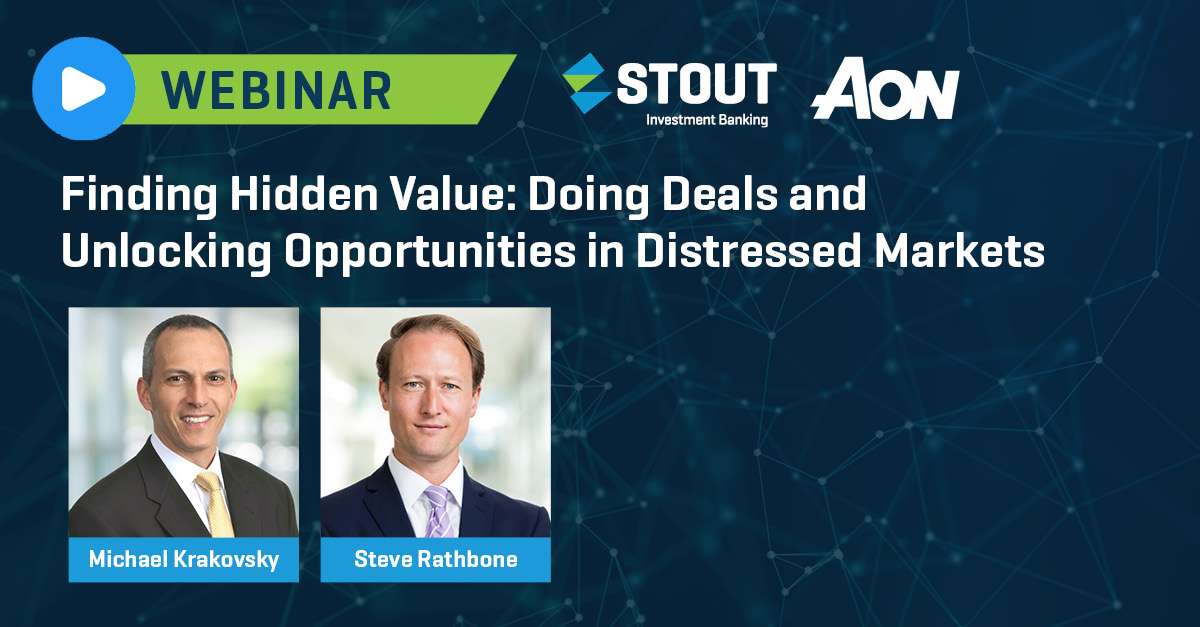 Webinar: Uncovering Opportunity Globally with Distressed Transactions