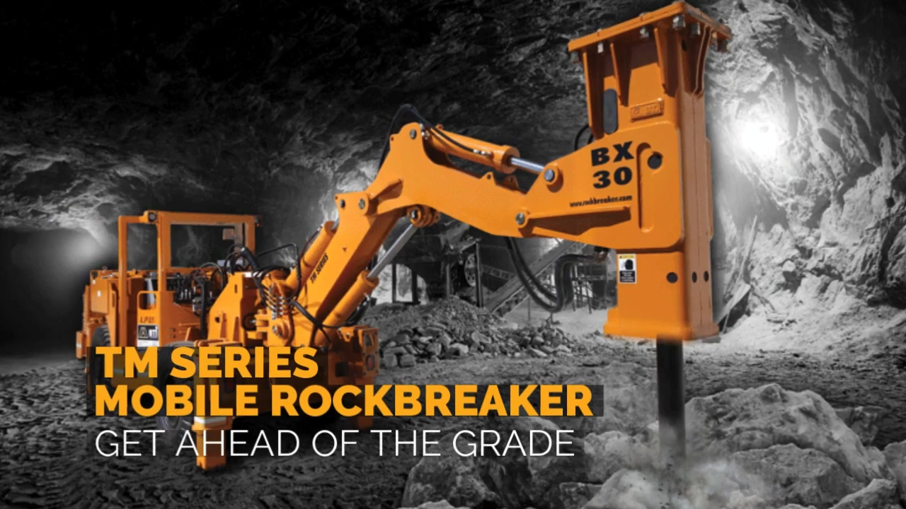 Breaker Technology   TM Mobile Rockbreaker   Ahead of The Grade