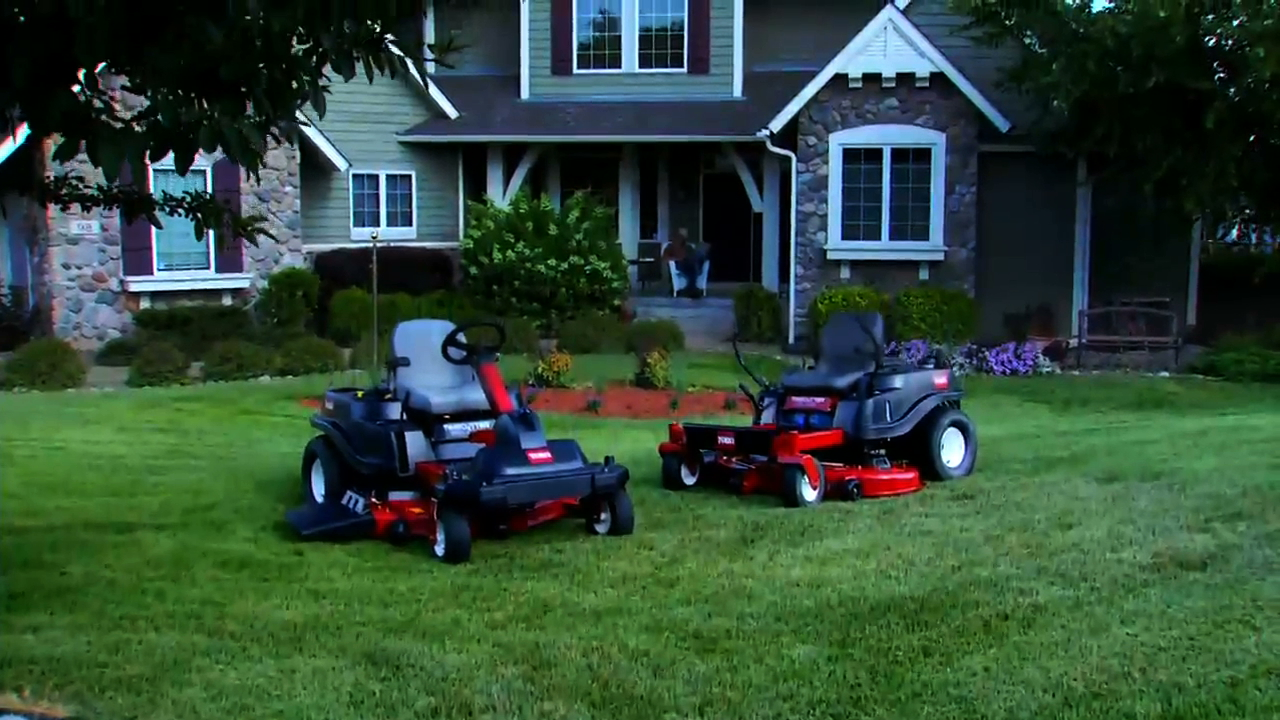 NEW Zero Turn Riding Lawn Mowers From Toro - 2015