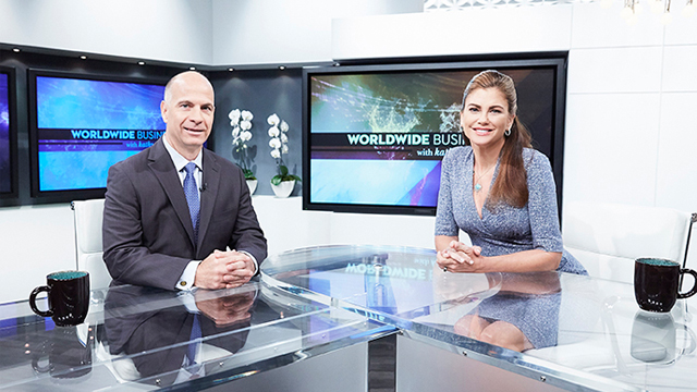 SHARP Electronics featured on Worldwide Business with kathy ireland