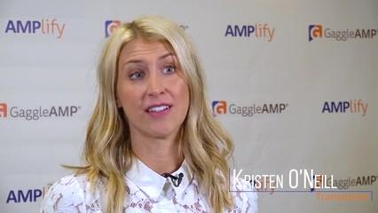Kristen ONeill AMPlify Testimonial
