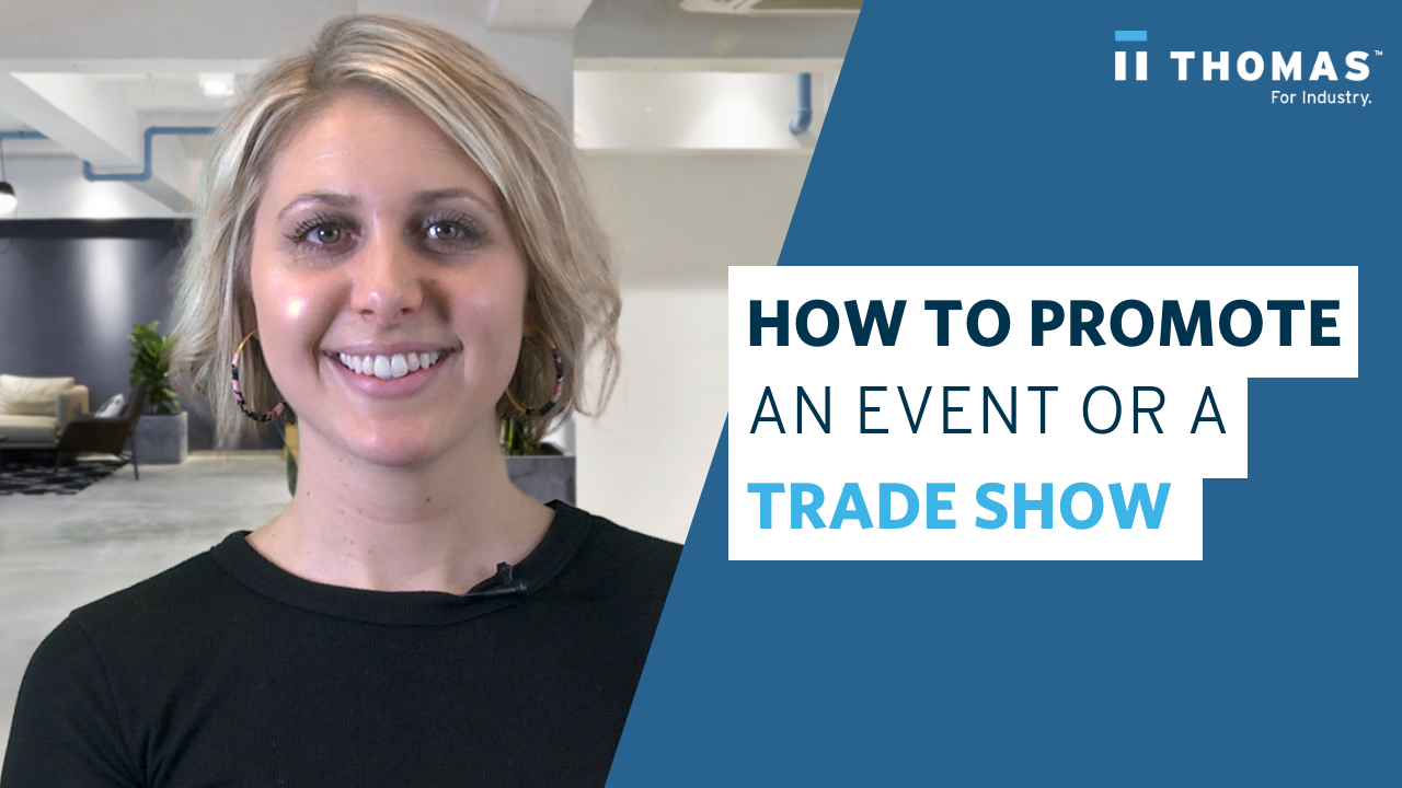 How To Promote An Event Or Tradeshow