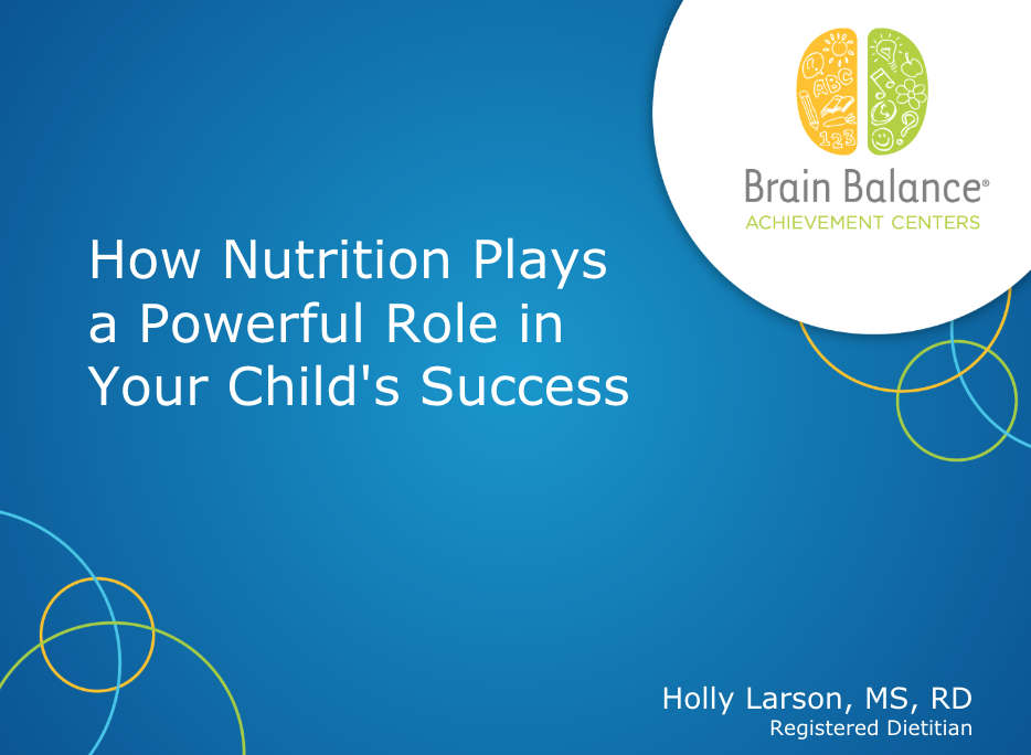 2019-03-14 17.00 How Nutrition Plays a Powerful Role in Your Child's Success