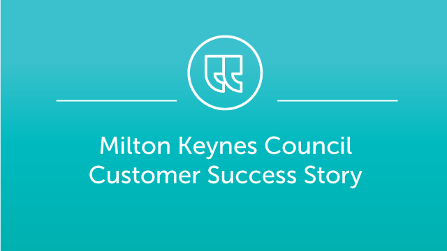 Milton Keynes Council Case Study