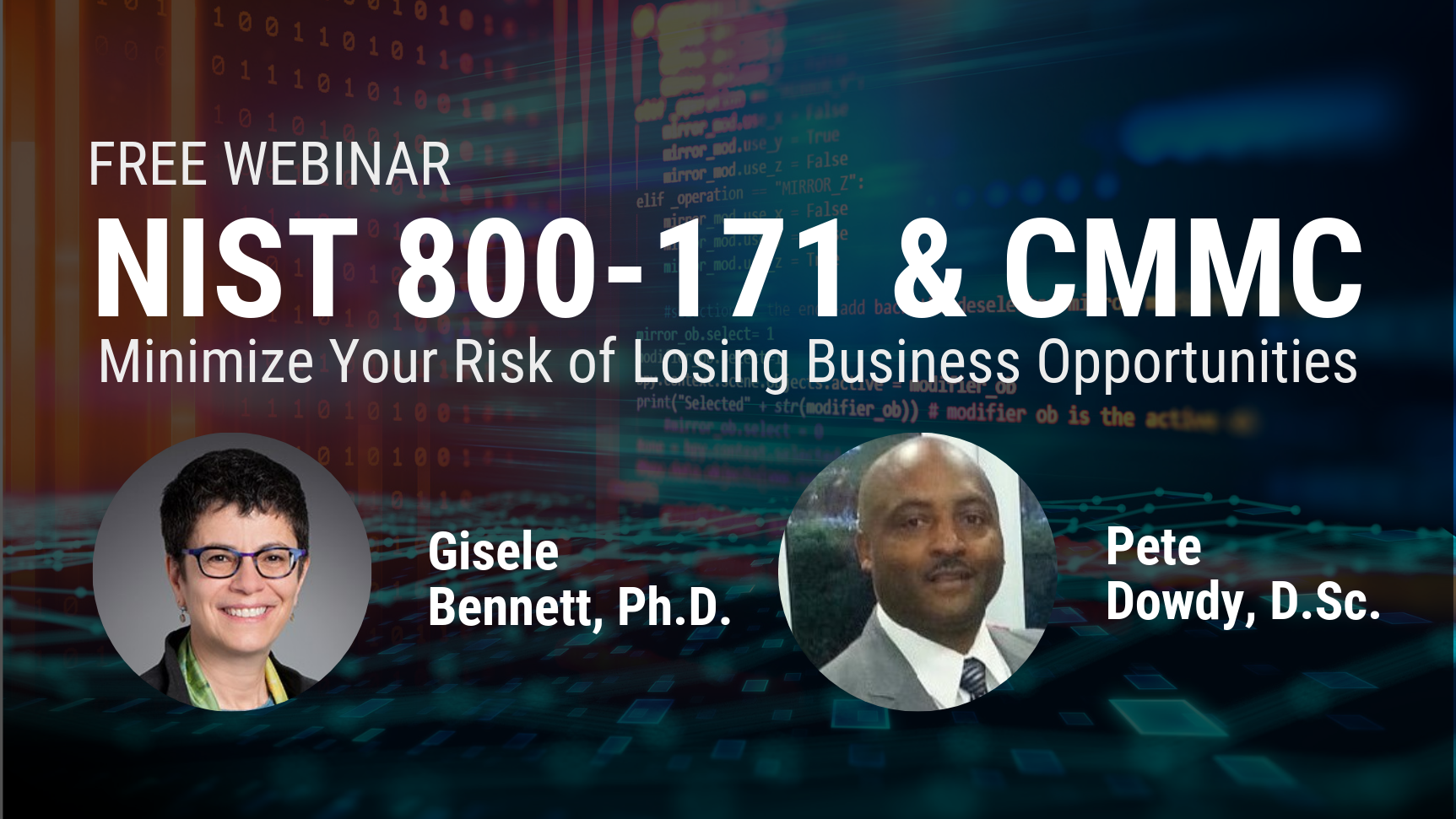 NIST SP 800-171 & CMMC_  Minimize Your Risk of Losing Business Opportunities