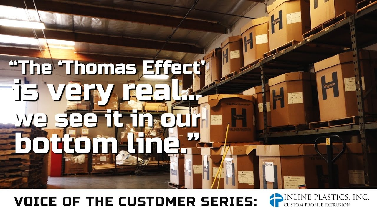 Thomas Testimonial- Inline Plastics, Family-Owned Leader In Custom Plastic Extrusions