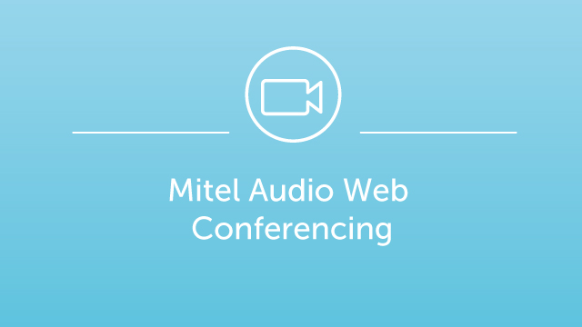 Mitel Audio Web Conferencing